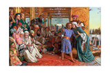 The Finding of the Saviour in the Temple, 1862 Giclée-tryk af William Holman Hunt