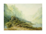 A Norwegian Fjord Giclee Print by Francis Danby