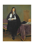 Portrait of a Man, C.1660 Giclee Print by Gerard Terborch