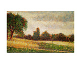 Wheat Field, 1883 Giclee Print by Georges Seurat