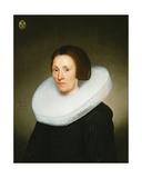 Portrait of Johanna Van Diemen, Aged 61, 1647 Lámina giclée por Jacob Gerritsz Cuyp