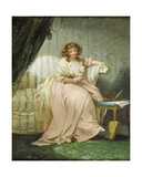 A Woman Called Anne, the Artist's Wife, C.1790-1800 Giclee Print by George Morland