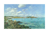 The Bay of Douarnenez, 1897 Giclee Print by Eugene Louis Boudin