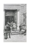 Stock Exchange Entrance in Capel Court, 1891 Giclee Print by William Lockhart Bogle