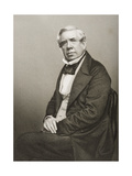 David Roberts (1796-1864) Engraved by D.J. Pound from a Photograph, from 'The Drawing-Room of… Giclee Print by John Jabez Edwin Paisley Mayall