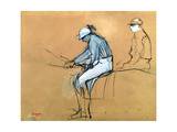 Jockeys Giclee Print by Edgar Degas