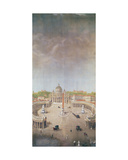 View of St. Peter's, Rome Giclee Print by Auguste Simon Garneray