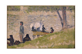 Study for a Sunday Afternoon on the Island of La Grande Jatte Giclee Print by Georges Pierre Seurat