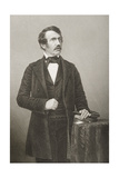 David Livingstone (1813-73) Engraved by D.J. Pound from a Photograph, from 'The Drawing-Room of… Giclee Print by John Jabez Edwin Paisley Mayall