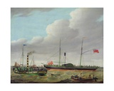 The Lion Off Goole Giclee Print by William Griffin