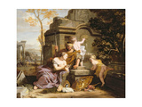 Granida and Daiphilo Giclee Print by Gerard De Lairesse
