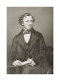 Edward Henry Smith Stanley, 15th Earl of Derby, Engraved by D.J. Pound from a Photograph, from… Giclee Print by John Jabez Edwin Paisley Mayall