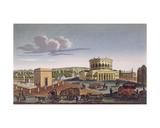 The Barriere De La Villette, C.1815-20 Giclee Print by Henri Courvoisier-Voisin