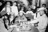 Playing Faro in a Saloon at Morenci, Arizona Territory, 1895 Photographic Print