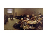 Eventide: a Scene in the Westminster Union, 1878 Giclee Print by Hubert von Herkomer
