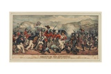 Defeat of Ashantees by the British Forces under the Command of Colonel Sutherland, 11th July… Giclee Print by Denis Dighton