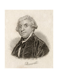 James Boswell Giclee Print by J.W. Cook
