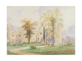 An Unidentified Gothic Mansion Giclee Print by Joseph Murray Ince
