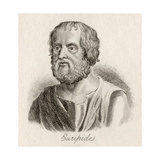 Euripides Giclee Print by J.W. Cook