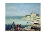 Beach Scene, Swanage Giclee Print by Charles Edward Conder