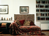 Analytic Couch in Sigmund Freud's Study Photographic Print