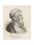 Archimedes of Syracuse Giclee Print by J.W. Cook