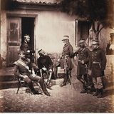 Major-General James Bucknall Bucknall Estcourt and Staff, from an Album of 52 Photographs… Photographic Print by Roger Fenton