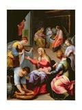 The Birth of the Virgin Lámina giclée por Alessandro di Agostino Casolani