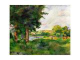 Landscape Giclee Print by Paul Cézanne