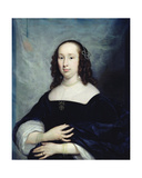 Portrait of a Dutch Woman Giclee Print by Cornelius Janssens van Ceulen