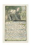 'The Garden of Love', Plate 45 from 'Songs of Innocence and of Experience', 1789-94 Giclee Print by William Blake