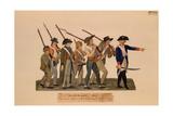 A Patrol of Bourgeoisie Giclee Print by  Lesueur Brothers