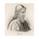 The Venerable Bede Giclee Print by J.W. Cook