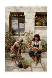 Flower Girls Giclee Print by William Stephen Coleman