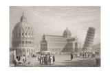 Pisa, Engraved by William Finden (1787-1852) Giclee Print by Samuel Prout