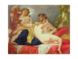 Horace and Lydia Giclee Print by Thomas Couture