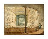 Interior of the Teatro Nacional Lorenzo De La Hidalga Giclee Print