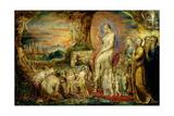 Christ's Entry into Jerusalem Giclée-tryk af William Blake