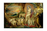 Christ's Entry into Jerusalem Giclée-Druck von William Blake