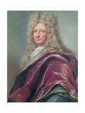 Samuel Bernard, Comte De Coubert, 1699 Giclée-Druck von Joseph Vivien