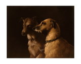 Deer Hounds Giclee Print by Robert Henry Roe