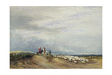 Riders at Ulverstone Giclee Print by David Cox