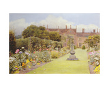 The Grass Walk, Helmingham Hall, 1892 Giclee Print by Henry Terry