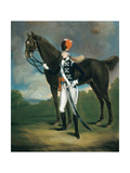 Unidentified Officer of the 7th Regiment of Light Dragoons, 1793 Giclee Print by Richard Arnold