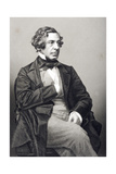 Samuel Warren (1807-77) Engraved by D.J. Pound from a Photograph, from 'The Drawing-Room of… Giclee Print by John Jabez Edwin Paisley Mayall