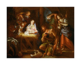 Adoration of the Shepherds Giclee Print by Giuseppe Passeri