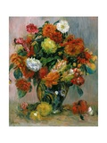 Vase of Flowers, C.1884 Giclee Print by Pierre-Auguste Renoir