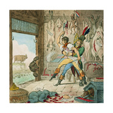 Boney and Talley, the Corsican Carcase - Butcher's Reckoning Day, Published by Hannah Humphrey,… Giclee Print by James Gillray