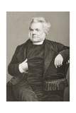 John Angell James (1785-1859) Engraved by D.J. Pound from a Photograph, from 'The Drawing-Room of… Giclee Print by John Jabez Edwin Paisley Mayall