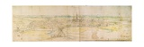 Panoramic View of S'Hertogenbosch, C.1545-50 Giclee Print by Anthonis van den Wyngaerde